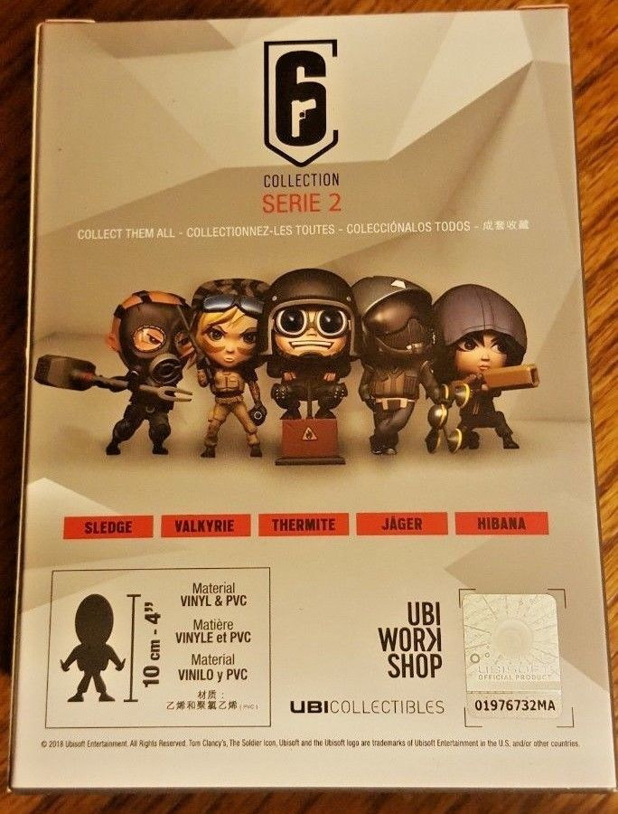 Rainbow Six Siege Series 2 Chibi with Codes and 50 similar items