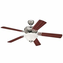Westinghouse Lighting 7234900 Vintage II Indoor Ceiling Fan with Light, 52 Inch, - $156.01
