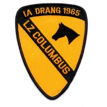 US ARMY 1st Cavalry Division Patch IA DRANG 1965 LZ COLUMBUS AIRCAV VIETNAM - $10.68