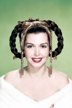 Ann Miller Beautiful in Off Shoulder White Gown 24x18 Poster - $23.99