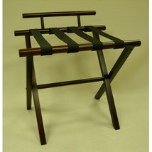Proman Products Luggage Rack in Walnut - $91.90