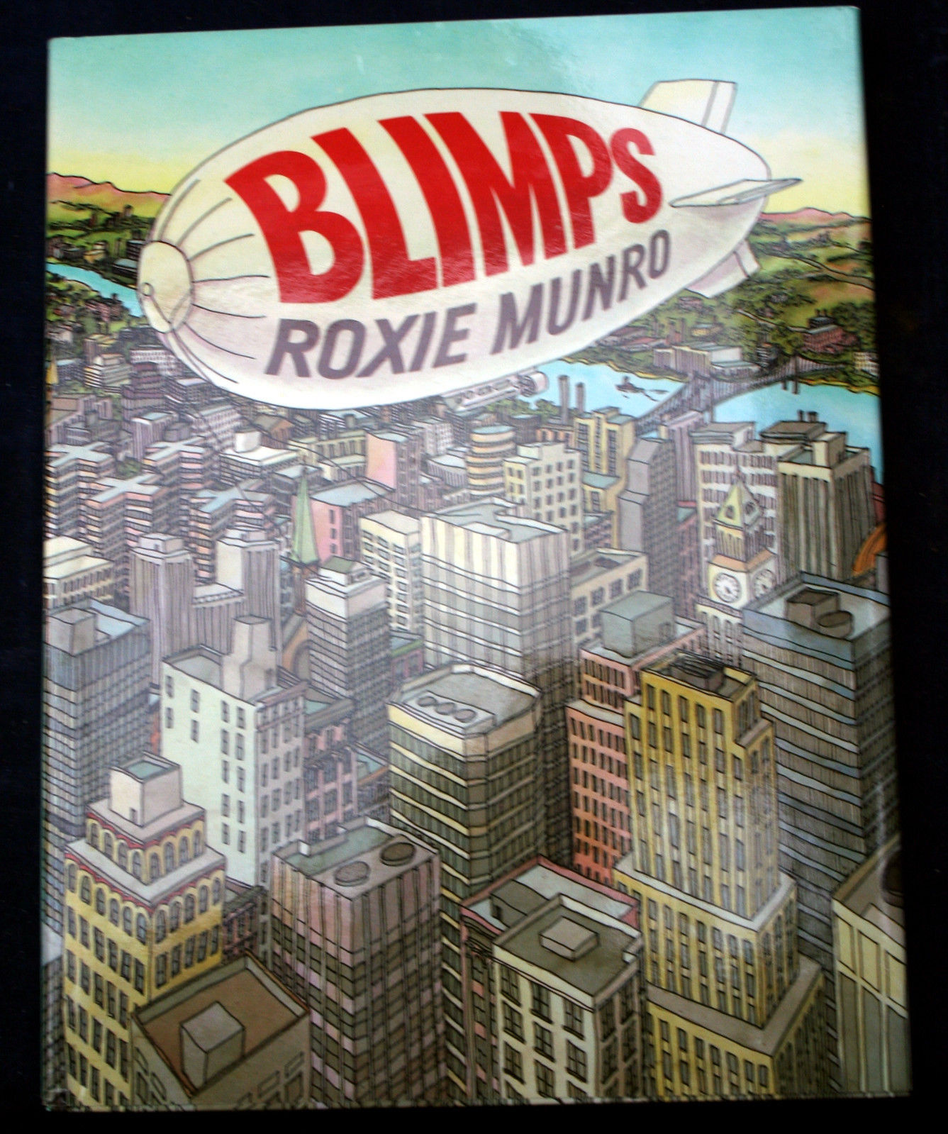 Primary image for BLIMPS Roxie Munro HCDJFP zeppelin dirigible HCDJ FEFP kids story book balloons