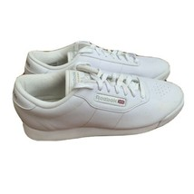 Reebok Classic Princess White Womens Running Sneakers 1475 Tennis Shoes ... - $23.75