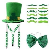 St. Patricks Day Accessories Irish Costume Decorations Party Favors Shamrock Lep