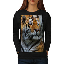 Tiger Photo Wild Animal Tee Magnificent Women Long Sleeve T-shirt - $14.99
