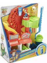 Fisher-Price Imaginext Toy Story 4 Carnival Playset Disney Pixar Sheriff... - $29.69