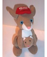 """Kangaroo Plush with Baby Joey in Pouch Advertising Westie 7"""" Westfield S... - $18.76"""