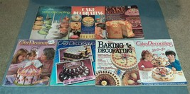 Wilton Cake Decorating Yearbook Lot of 7 - 1974 79 83 85 86 87 - $26.00