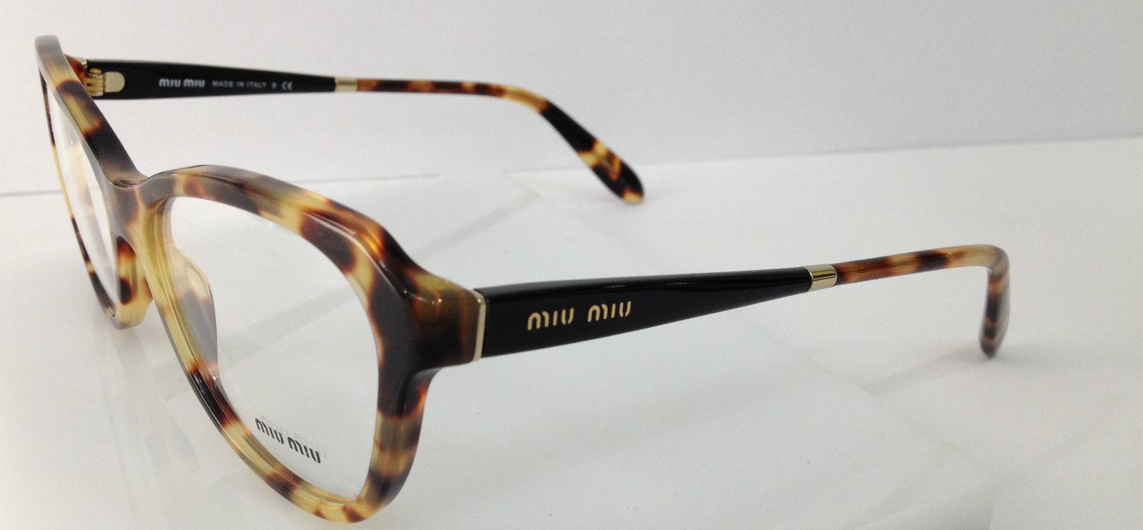 Miu Miu VMU 01N Blonde Tortoise 7S0-1O1 and similar items