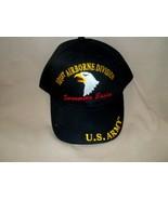 101st Airborne Division, Screaming Eagles 100% Cotton Ballcap - $15.84