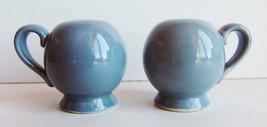 Santa Anita Ware California Modern Salt and Pepper Gray Grey Shakers Pot... - $14.84