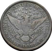 1899 Silver Barber Half Dollar Coin Lot A 319 image 2