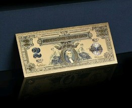 <GOLD STUNNING>1800's Series $2 SILVER CERTIFICATE Banknote Rep*W/COA~US S - $10.63