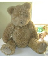 "Vintage 1990 TY Classic jointed BIG plush TEDDY BEAR 22"", made in Korea - $59.99"