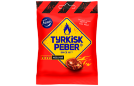 TYRKISK PEBER (Turkish Pepper) Megahot candy x 14 bags 120g FAZER Finland  - $39.59