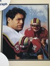 NIB 1996 Steve Young San Francisco 49ers Framed Lithograph Art Print Photo #530 - $25.00