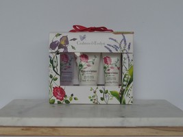 Crabtree Evelyn Trio Rosewater Travel Set Body Lotion Bath Shower Gel  - $18.80