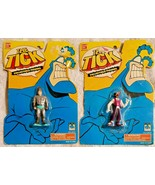 The Tick Collectible Action Figures- Human Bullet & Chairface Chippendal... - $4.98