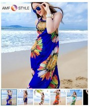 Sexy Women Chiffon Wrap Pareo Dress Sarong Beach Bikini Swimwear Cover U... - $8.79