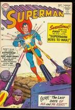 SUPERMAN #161 1963-DC COMICS-DEATH OF THE KENTS-WAR CVR FN - $63.05