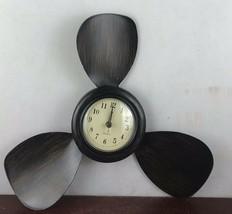 Resin Boat Propeller Wall Clock - £18.04 GBP