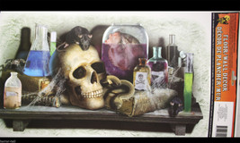 Gothic Halloween Prop SKULL LABORATORY FLOOR WALL GRABBER Window Door De... - $4.92