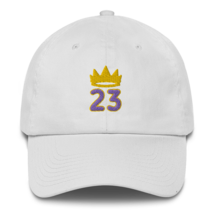 King James hat / King 23 hat / 3d embroidery / basketball hat /23 Cotton Cap  image 5