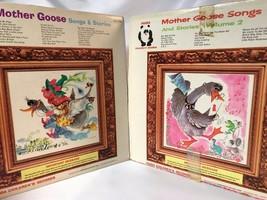 Mother Goose Songs & Stories and Volume 2 Vinyl LP's Panda Children's Vi... - $28.01