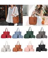 4 Pcs /1 Set Women Lady Fashion Handbag Shoulder Bags Tote Purse - $38.65