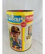 Playskool Bristle Blocks Building Set 1976 Incomplete - $12.95
