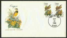 Oregon-Western MEadowlark & Oregon Ggrape, HF-Sealed Flap **ANY 4=FREE S... - $1.00