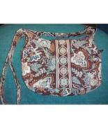 Vera Bradley floral cotton crossbody shoulder bag USA quilted - $20.00