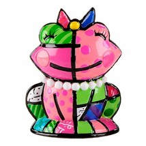 Romero Britto Mini Frog Figurine  #331847