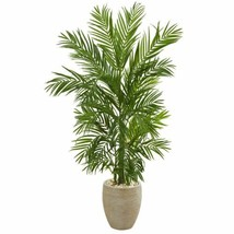 Luxury Multicolor 5' Areca Palm Artificial Tree in Sand Colored Planter - 5 Ft. - $272.19