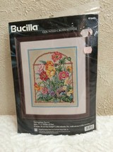 Bucilla Springtime Secret Counted Cross Stitch Vintage 1997 Kit SEALED #41643 - $32.66