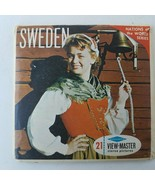 View-Master B151 Sweden - 21 Stereo Pictures - $18.42