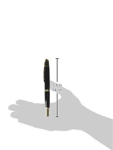 Pilot Namiki Fountain Pen CAPLESS Black Fine Medium Nib FC-15SR-BFM