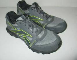 Womens Reebok Trail Dirt Cutter Athletic Running Shoe Size 11 j997221 Gray mesh - $32.33