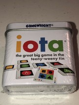 "Iota Card Game from Gamewright ""great big game in the teeny-weeny tin"" NEW - $7.42"