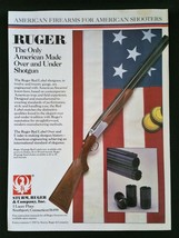 1988 Sturm, Ruger & Company Inc. American Firearms Shotgun Full Page Ad - $6.64