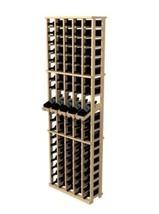 Solid Wood Standing Wine Rack Storage 100 Bottle Holder Home Bar Display... - $346.40