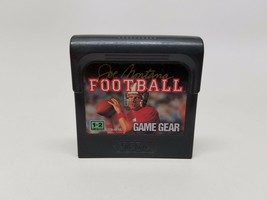 Joe Montana Football Sega Game Gear Cartridge 1991 - $5.10