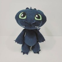 """How To Train Your Dragon Plush Toothless Night Fury growling talking 13"""" - $29.69"""