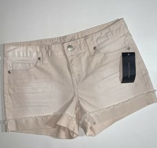 Tommy Hilfiger pink jean shorts women's size 2 NWT - $29.69