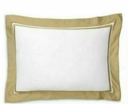 Ralph Lauren Home Bowery Polished Bronze Standard Sham retail $130 - $61.37