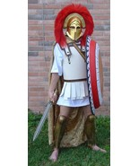 American Made Greek Macedonian Armor Costume Ancient lino Thorax Army - $329.00