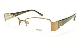 FENDI F1043R 700 Eyeglasses Frame Metal Acetate Bronze Italy Made 51-17-... - $149.52