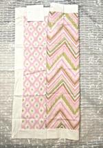 Dena Home Georgia Pink 100% Cotton Pillow Sham ~ 1 Sham 26x26 with white... - €12,59 EUR