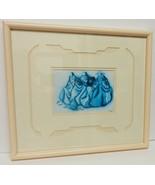 """Robert Redbird Native American Litho Print Art Signed Matted 16""""x14"""" Framed - $95.00"""