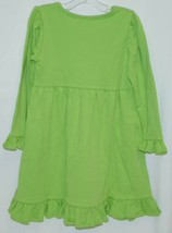 Blanks Boutique Long Sleeved Color Lime Green Ruffle Dress Size 3T image 2